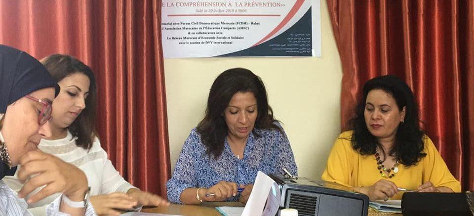 les ateliers de formation sur le thème : « La radicalisation des jeunes : de la compréhension à la prévention